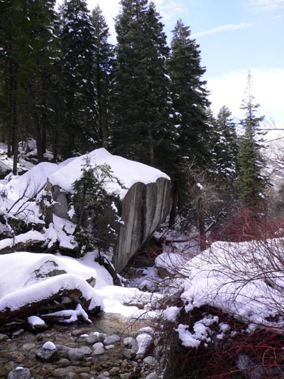 Little Cottonwood Canyon by Laura Moncur 03-27-05