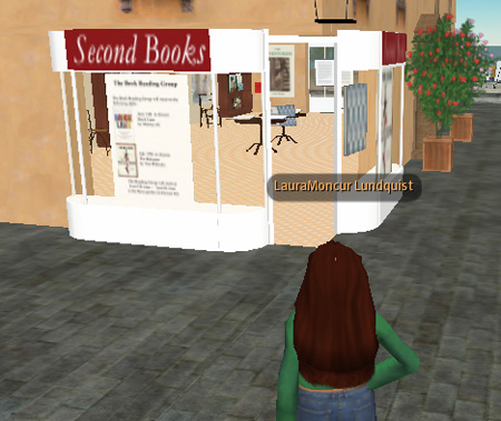 Second Books in Second Life
